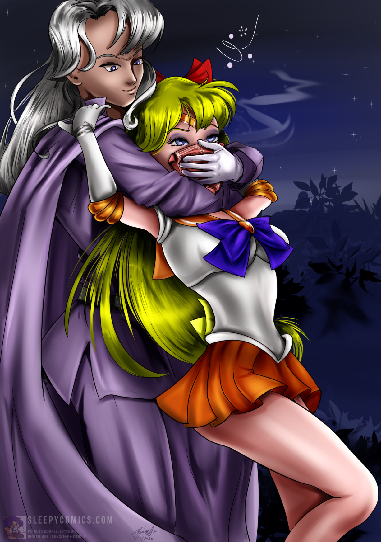 Sailor Venus Chloroformed