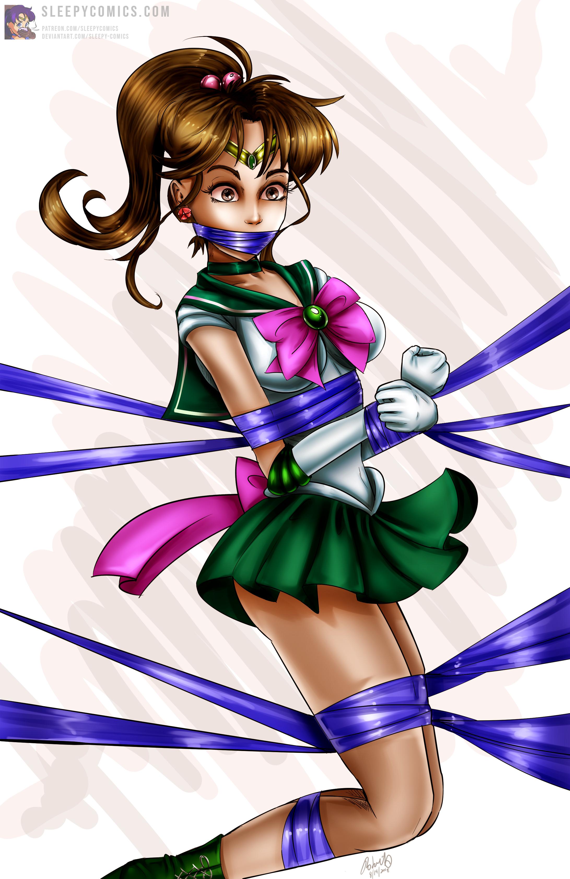 Sailor Jupiter Wrapped Up