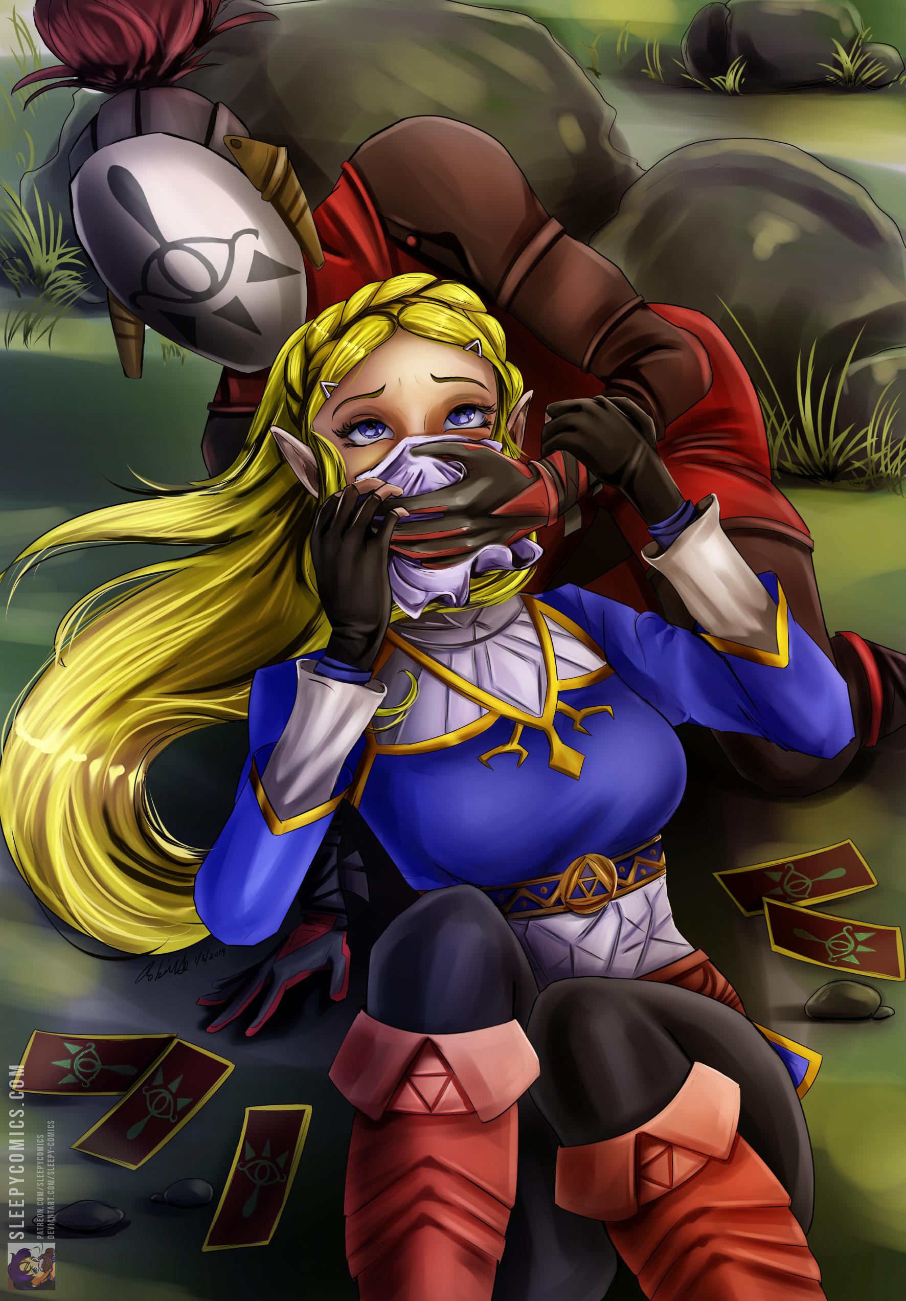 Princess Zelda Chloroformed
