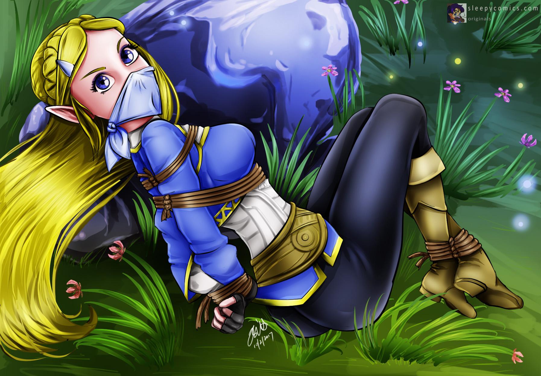 Princess Zelda Bondage