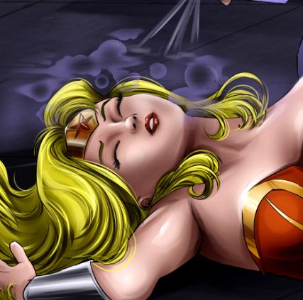 Ultra Woman Sleep Gassed
