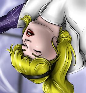 Spider-Gwen Unconscious